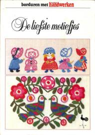 1980 | Boeken | Borduren | Ondorisha | De liefste motiefjes: borduren met maandblad handwerken