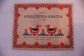 1910-1920 | Boeken | Kruissteken | Kreuzstich-kanten 2. Heft Vorlage 3 Beyers Handarbeits - Vorlagen für Schule und Haus