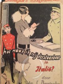 Italië | 1925 | Woordenboeken | Hoe maak ik mij verstaanbaar in Italië | John S. Berrington