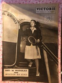 1948   VICTORIE BREI en MODEBLAD voor MOEDER en KIND - Derde jaargang nr. 15 - 31  juli 1948