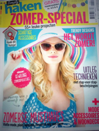 Tijdschriften | Haken | Simply haken: ZOMER-SPECIAL: 55+ Leuke haakprojecten 01/2014