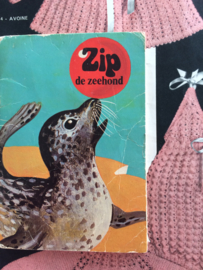 "1970   Mini boekje ""Zip de Zeehond""   ca. 1970"