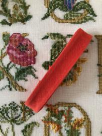 Band  | Biaisband | Rood (tomaat)  | 2 cm | 100% katoen | Derco - kleurecht : patents pending