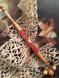 Kantklosjes | Vintage Bobbin Lace Souvenir Spangles of Jingles | Kerstmis, Christmas