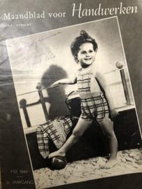VERKOCHT   Ariadne: maandblad voor handwerken   1949 nr. 29 - 3e jaargang - brei & haakpatronen