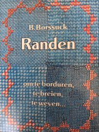 1970 | Boeken | Borduren | Randen om te borduren, te breien, te weven - B. Borssuck - 1977