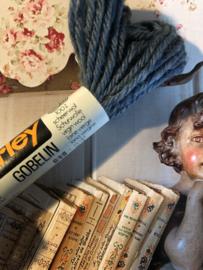 Borduurwol   Parley 618 - 619- 620 - 621   GOBELIN - strengetjes   Strähnchen   skeins   echevettes - 5 gram