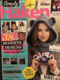 Tijdschriften | Haken | Simply Haken 2013 nr. 01 oktober/november HERFST 🍂 Mutsen