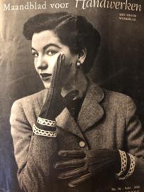 Ariadne: maandblad voor handwerken | 1953 nr. 74 - februari (7e jaargang) - met werkblad - VOORJAAR