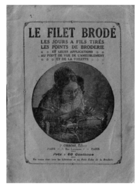 Borduren | Artikel: Wat is Filet Lace? | Filet Brodé | Netborduren