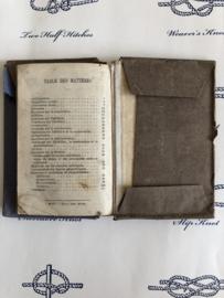 1912 | Frankrijk oud 'Aritmetique' rekenen lesboekje