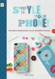 2014 | Boeken | Borduren | Style your phone: de leukste borduursels voor je smartphonehoesje