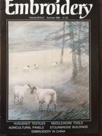 Tijdschrift | Borduren | Embroidery Vol 36 no. 2 Summer 1985
