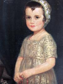 1922 | Duitsland | Künstler-AK Corneille Max: Das Schmuckkästchen, Mädchen mit Kette |Beeldschoon meisje met ketting