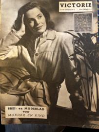 1948   VICTORIE BREI en MODEBLAD voor MOEDER en KIND - Derde jaargang nr. 01 - zonder datum