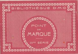 Boeken | Bibliothèque DMC | Kruissteken | POINT de MARQUE IIIme SÉRIE  no. 335 | 1930|