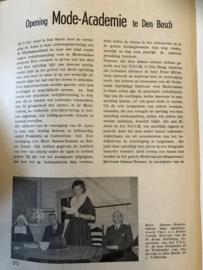 Mode | Artikel: opening mode-academie in Den Bosch - 1953