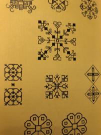 1956 | Boeken |  Borduren | Ontwerp zelf uw borduurwerk - Joan Nicolson | H.J. Paris Amsterdam