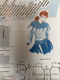 Breien | Tijdschriften | Marijke-KREATIEF nr. 7 - Speciale uitgave | Dichte Fantasie- Patent & Aren motieven | 1970