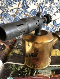 Vintage gereedschap koperen gasbrander BARTHEL -  Industrieel 1960-1970 | Vintage Brass Blowtorch