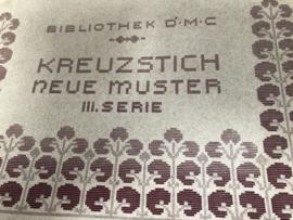 Boeken | Bibliothek DMC | Kruissteken | 1915 - Kreuzstich neu  Muster III. SERIE (groot formaat)