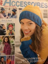 Tijdschriften | Haken & breien | Anna: Accessoires zelf maken nr. 11  - HANDWERK OM VAN TE GENIETEN! - Mutsen en sjaals en handschoenen HERFST/WINTER