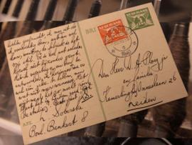 Briefkaarten | Vooroorlogse briefwisseling tussen L. Soberske en D.A. Ploeg jr. 20-11-1940