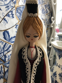 Rusland   Poppen   Houten klederdrachtpop - handwerk