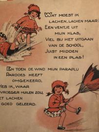 1938 | Oude illustraties uit kinderboekje jaren '30