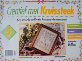 DMC Creatief met kruissteek 5 : een unieke collectie met kruissteekpatronen | 1994