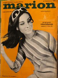 1967 | Marion knippatronenblad | nr. 234 december 1967 - met  radarblad