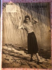 1948   VICTORIE BREI en MODEBLAD voor MOEDER en KIND - Derde jaargang nr. 10 - 3 juli 1948
