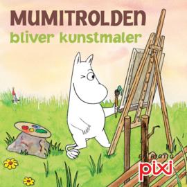 Boeken | Mini-boekjes | Denemarken | 884 Pixi boekje Mumitrolden bliver kunstmaler (serie 121) - 2010
