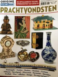 2019 | Verzamelen | Tijdschriften | Verzamelkrant | Origine nr. 3 - 2019 PRACHTVONDSTEN: veilingtrends & ontwikkelingen | Postzegels, Munten, boeken