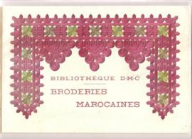 Bibliothèque DMC | Marokko | Broderies Marocaines | 1955