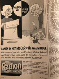 1962 | Advertentie Radion waspoeder van de Radion boekjes