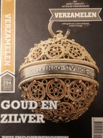2012/2013 | Tijdschriften | Verzamelen | 28ste jaargang nr. 294 december/januari 2013 - goud en zilver -  Staphorster bijbeltjes - zilveren toiletgerei - puddingvormen - hoorspellen