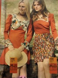 1974 | Marion naaipatronen maandblad | nr. 316 oktober 1974 - met radarblad - winterjassen, tweed, herfstkleding