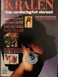Tijdschriften | Kralen | Kralen: van versiering tot sieraad | Februari/maart 1990, nr. 2