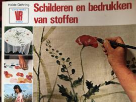 Boeken | Schilderen | Schilderen en bedrukken van stoffen - Heide Gehring | Varia reeks in kleur