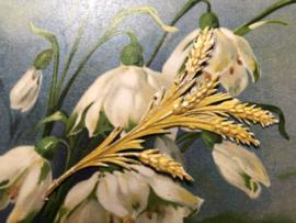 Papier | Oud poëzie plaatje koren aar
