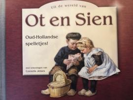 Spellen | Boeken | Uit de wereld van Ot en Sien Oud-Hollandse spelletjes! - met tekeningen van Cornelis Jetses