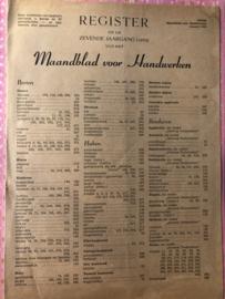 zz - Ariadne: Register 1953 - GRATIS HIER TE RAADPLEGEN