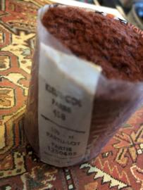 Tapijtwol | Parley - 458 - Rood-bruin | Pakje  zuiver scheerwol Teppichwolle - Carpetwool -  IRAN - Made in Holland ca. 1960