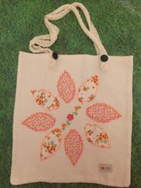 "Linnen shopper ""Sunny Flowers"" | Tote (L)"