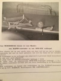 1958 | Breien | Koninklijke Scheepjeswolfabrieken Veenendaal | Passap breigids no. 221 | vintage breipatronen | 1958-1959