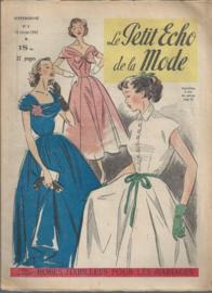 Tijdschriften   Le Petit Echo de la Mode Hebdomaire 6    10 Frevier 1952