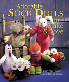 Hobby | Poppen maken | Adorable Sock Dolls to Make & Love Connie Stone -  Emola Lowe (Sokken poppen maken)
