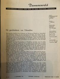 Fournituren | Geschiedenis van vliezeline - zoals verteld in 1953