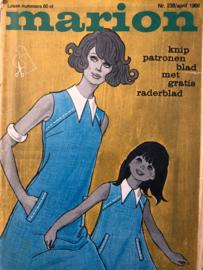 1968 | Marion naaipatronen maandblad | nr. 238 april 1968 - met radarblad